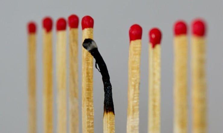 Сгорел на работе