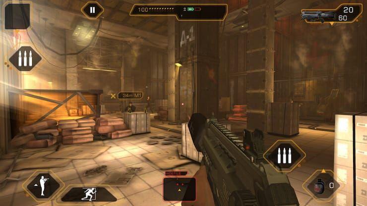 Обзор игры Deus Ex: The Fall для iPhone и iPad