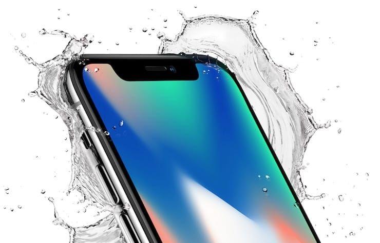 Водонепроницаемость iPhone X
