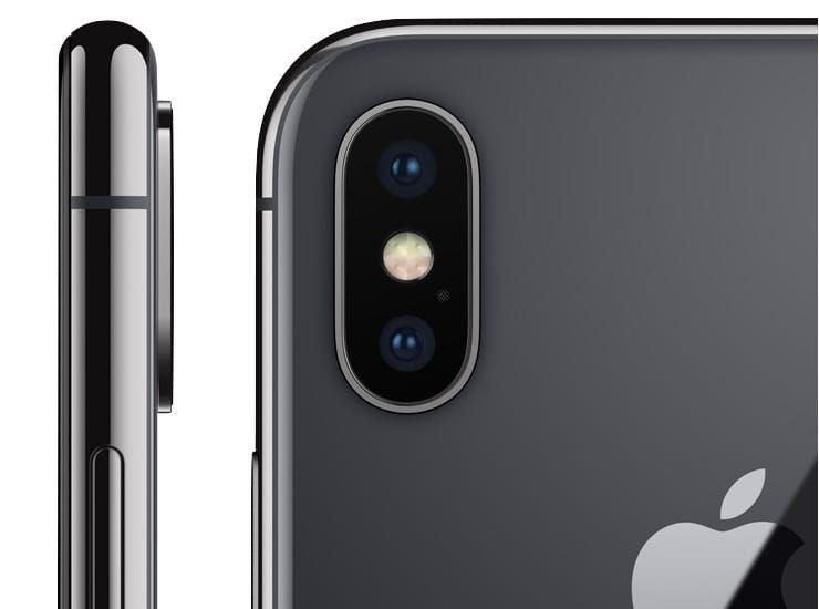 Cameras in iPhone X