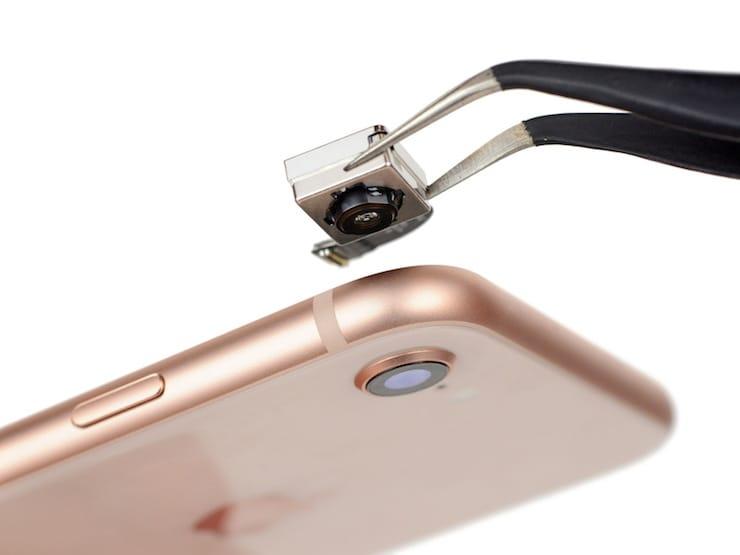 разборка iphone 8 teardown от ifixit