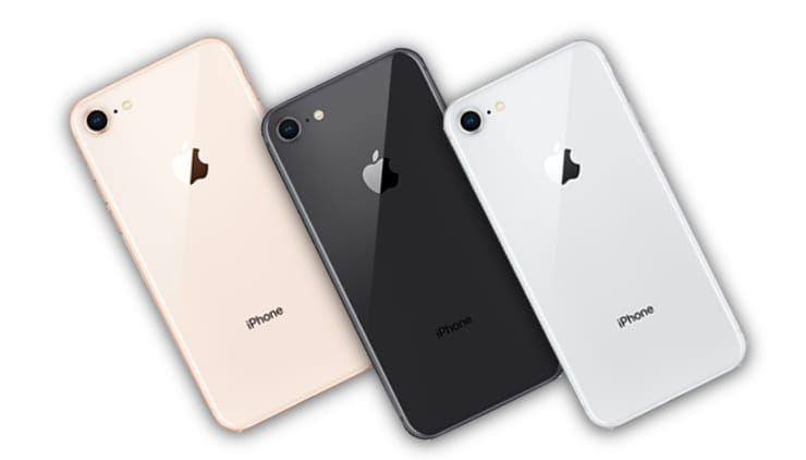 Цвета iPhone 8 / 8 Plus