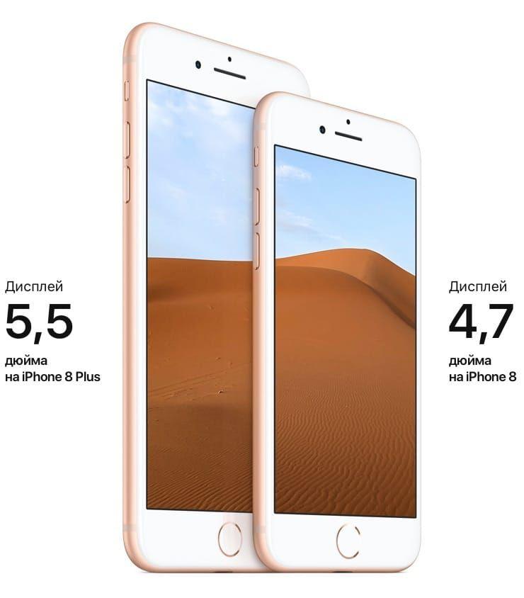 iPhone 8 дисплей