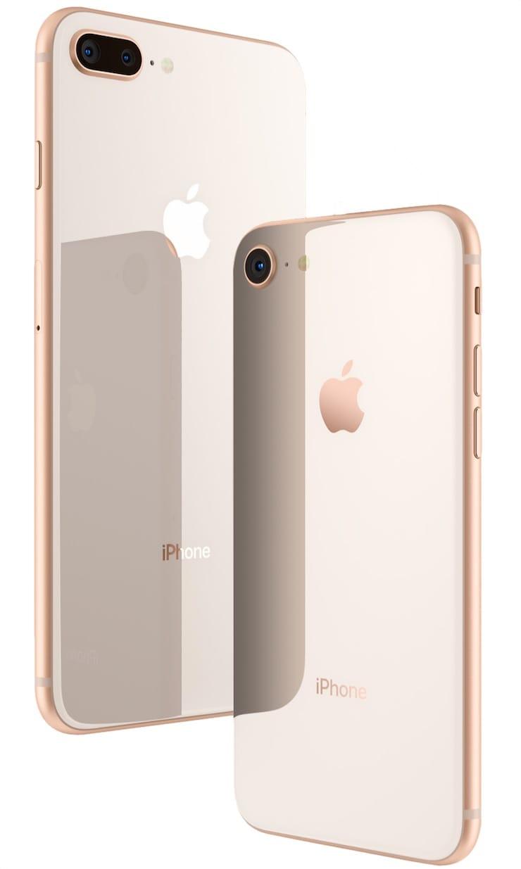 Распаковка iPhone 8 / 8 Plus и первые практические тесты