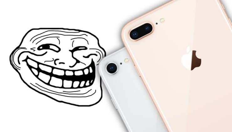iPhone 8 царапается
