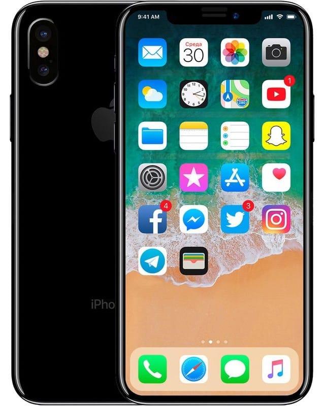 Концепт iPhone X