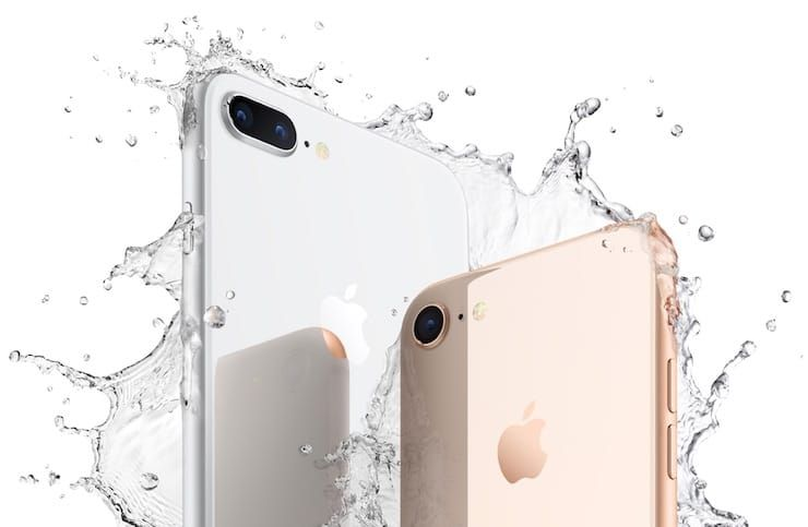 iPhone 8 водонепроницаемость