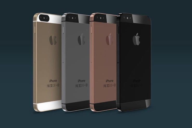 iPhone SE 2 в стиле iPhone X