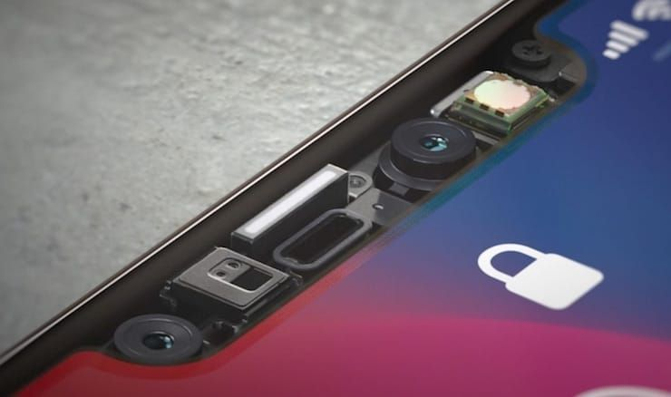 iphone x сенсоры