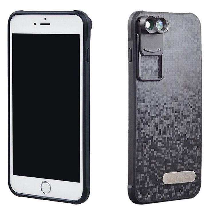Чехол для iPhone с объективами