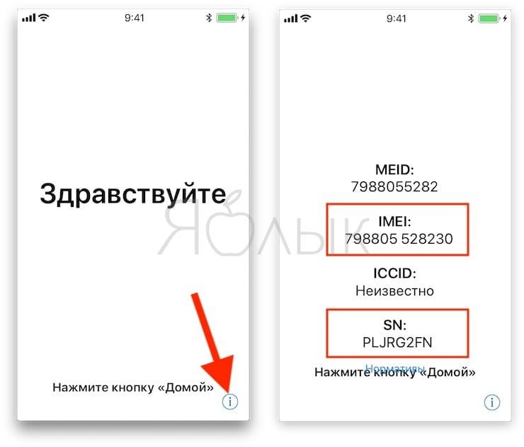 Как найти IMEI и серийный номер на iPhone