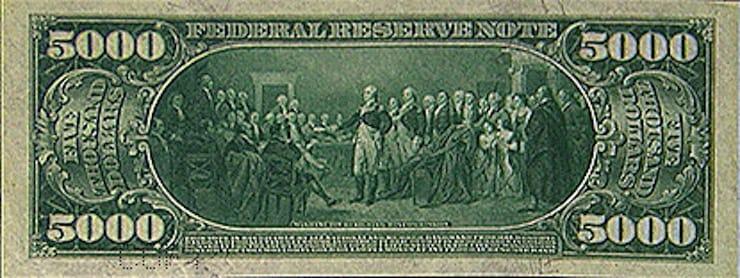 5000 долларов США