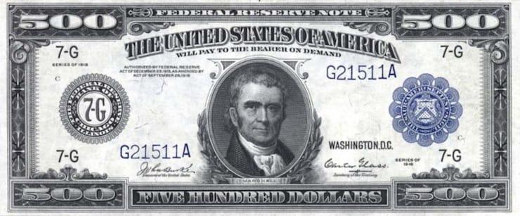 500 долларов США