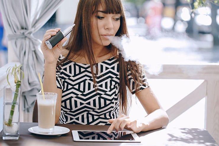 вейп с никотином