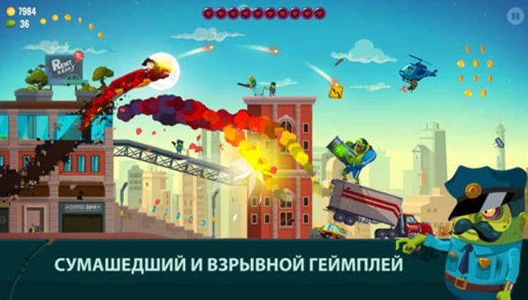 Игра Dragon Hills 2 для iPhone и iPad – драконы и зомби-апокалипсис