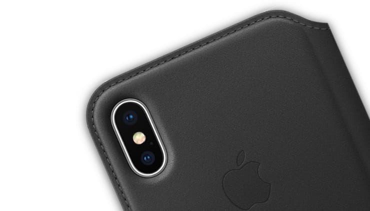 оригинальный чехол для iPhone X от Apple