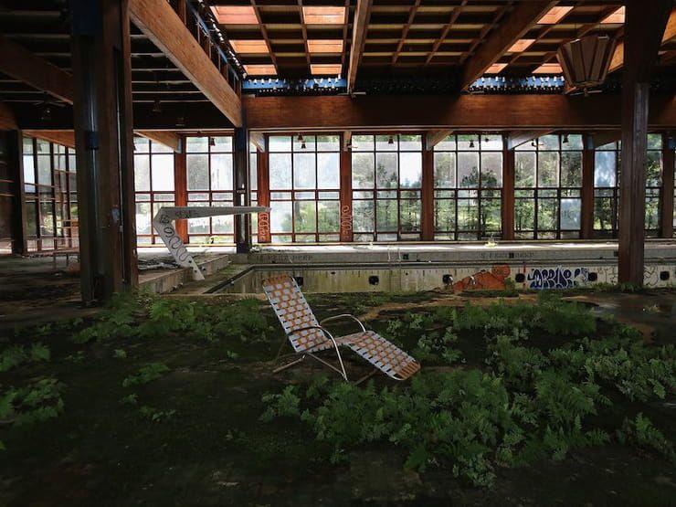 Отель Grossinger's Catskill Resort (Либерти, Нью-Йорк, США)
