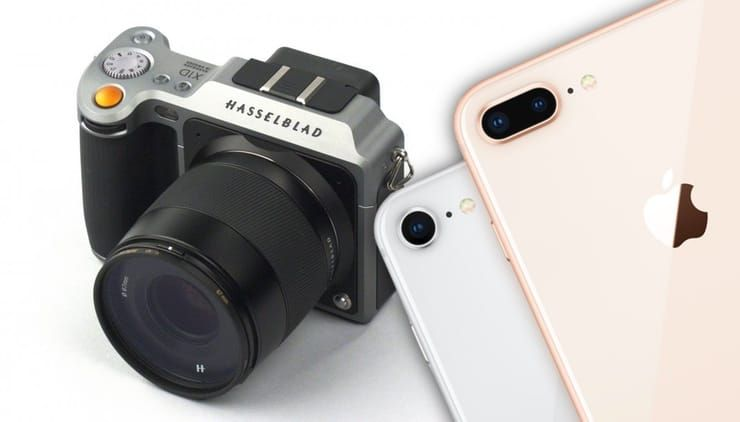 Камера iPhone 8 Plus против фотоаппарата Hasselblad X1D за $9 тыс.