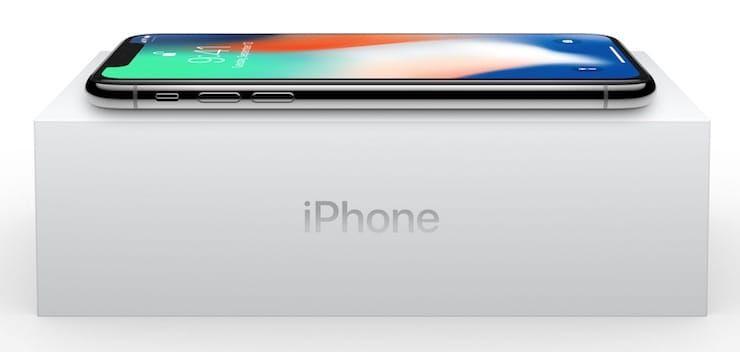 Коробка iPhone X