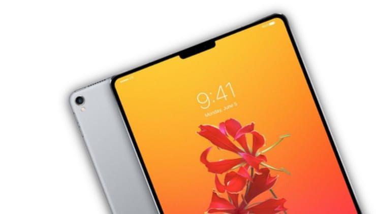 iPad Pro 2018 получат сканер Face ID