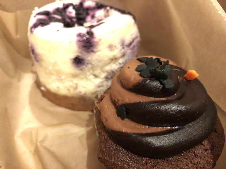 Фото пирожного на iPhone 8
