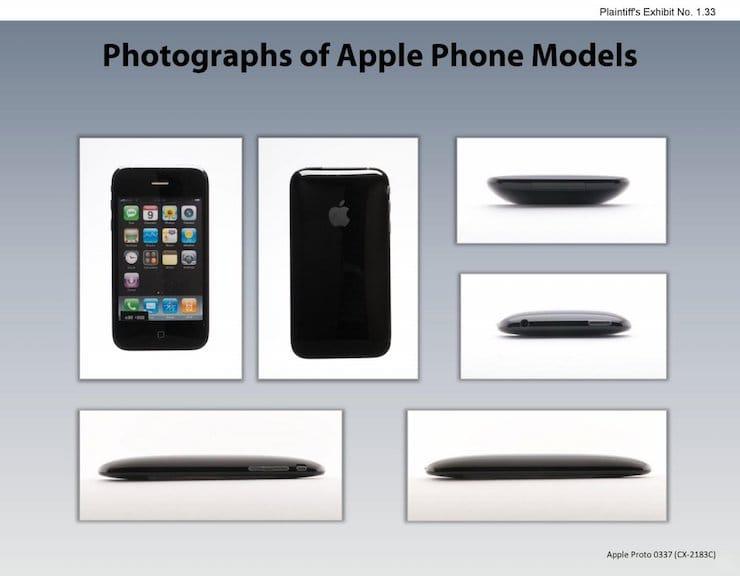 Прототипы первых моделей iPhone