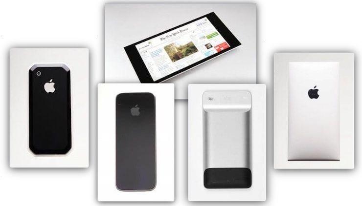 фото прототипов первых моделей iPhone