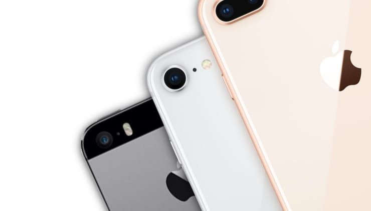 iPhone 8 быстрее iPhone 5s