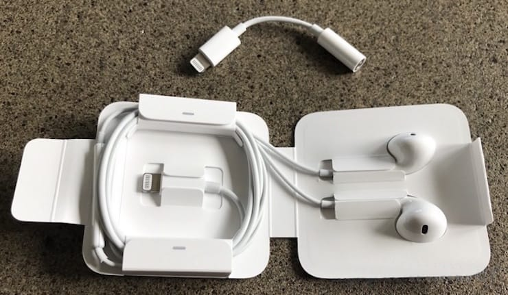 lightning earpods box
