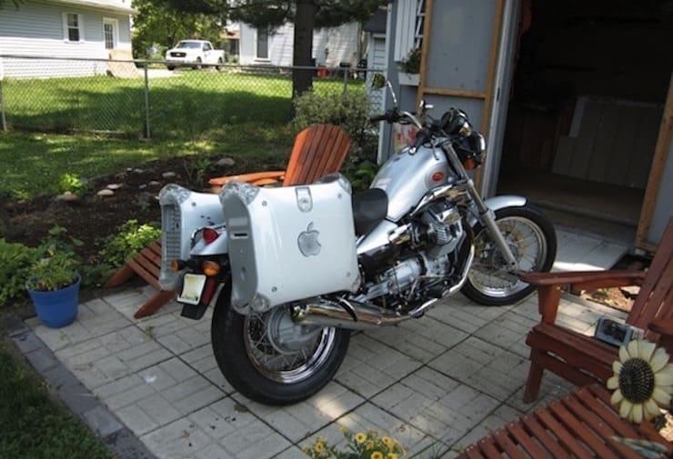 powermac g4 motorcycle saddlebags