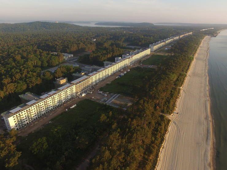 Курорт Прора (остров Рюнген, Германия)