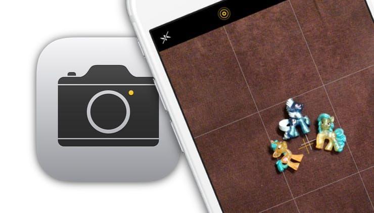 Как правильно фотографировать на iPhone сверху вниз