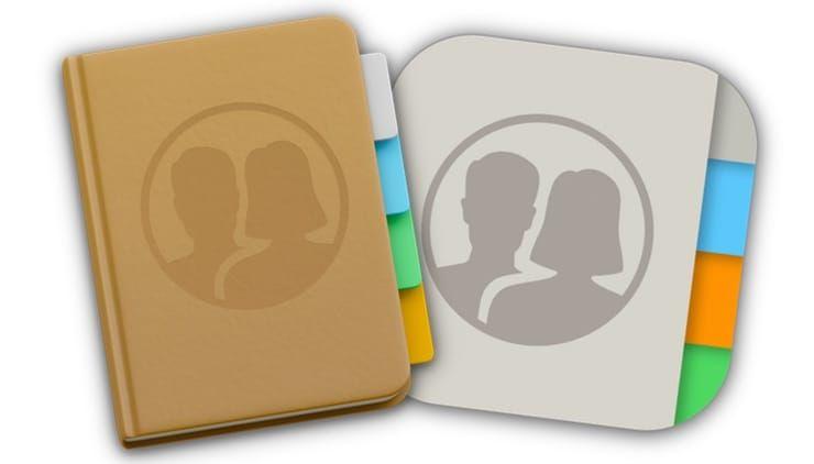 контакты iPhone на macOS