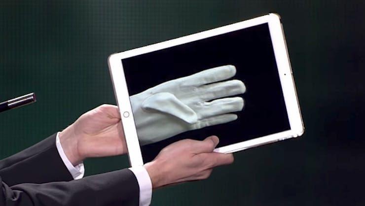 Фокусы с iPad