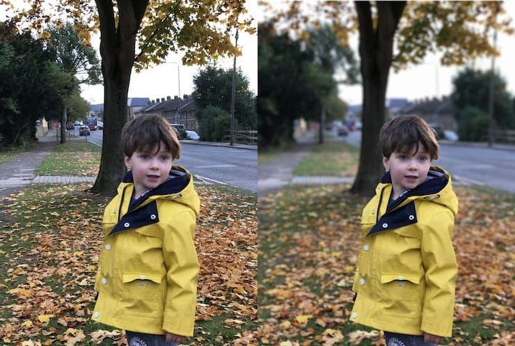Портретная съемка на iPhone