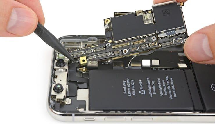 Компоненты iPhone X
