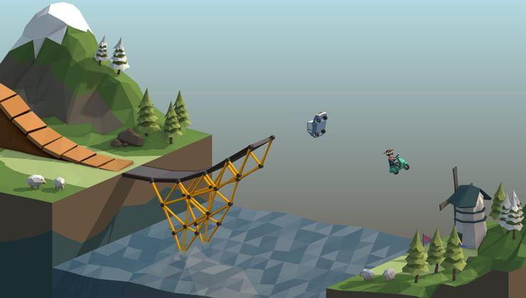 Игра Poly Bridge для iPhone и iPad – головоломка для тех, кто любит строить мосты