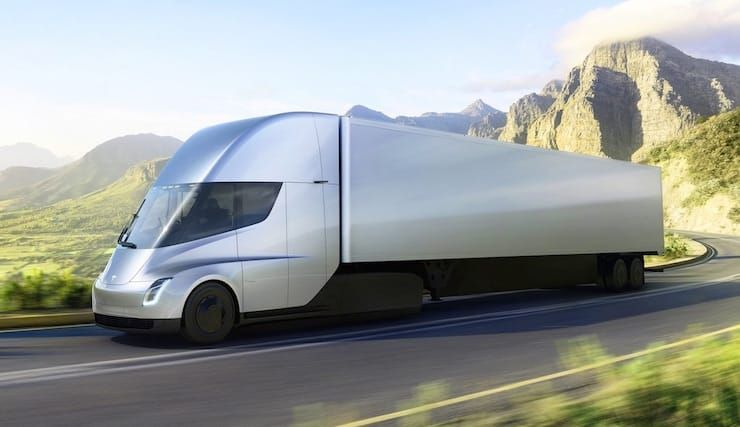 Tesla Semi - грузовик Тесла
