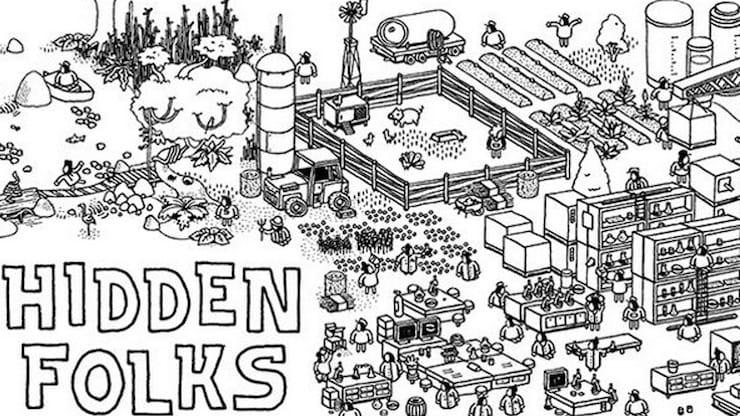 Обзор игры Hidden Folks