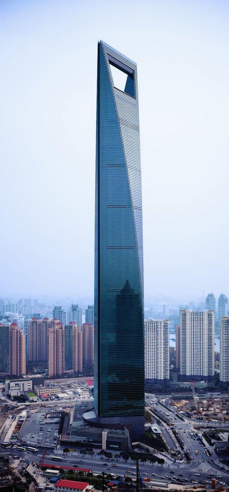 Шанхайский всемирный финансовый центр, Шанхай