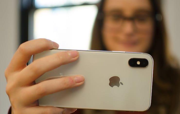 Портретный режим на iPhone X