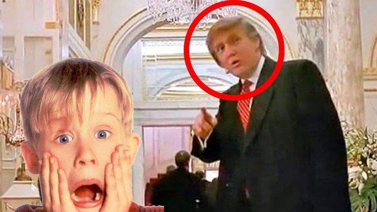 Дональд Трамп в кино: Один дома 2