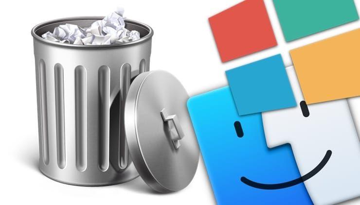 Не удаляется файл: Как удалить на Windows и Mac