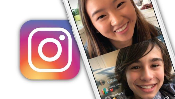 Как выйти в прямой эфир на Instagram вместе с другом (подругой)