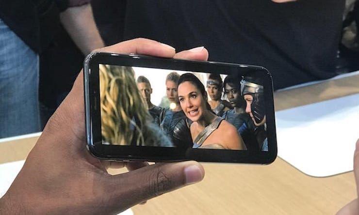 просмотр видео на iPhone X