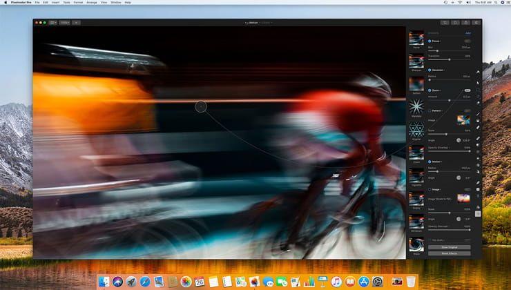 Pixelmator Pro для Mac — обновленная версия популярного фоторедактора с искусственным интеллектом