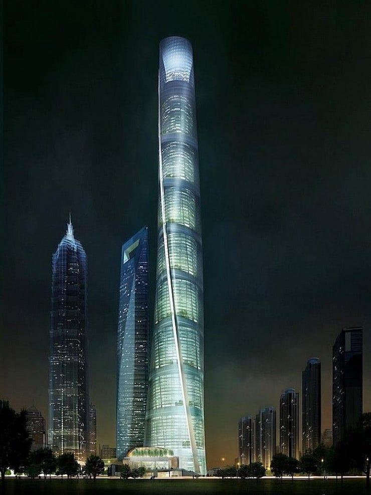 Шанхайская башня, Шанхай