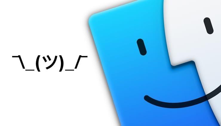 Как быстро набирать смайл «¯\_(ツ)_/¯» на Mac (macOS)