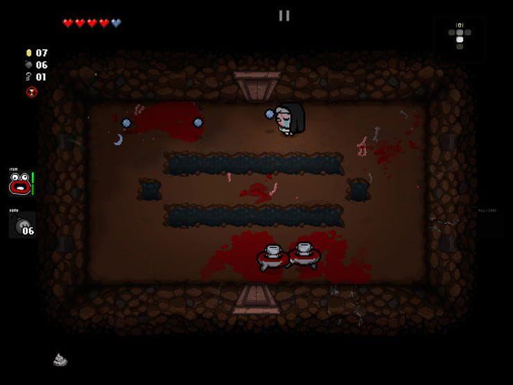 Обзор игры The Binding of Isaac: Rebirth для iPhone и iPad — известная инди-RPG с необычной атмосферой