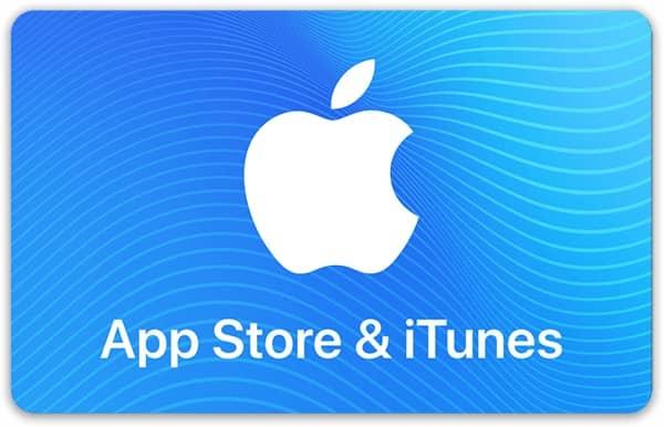 Подарочные карты Apple